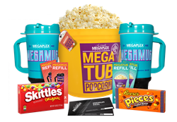2022 MegaTub Movie Package for two